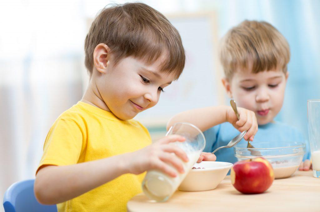 colaciones para niños