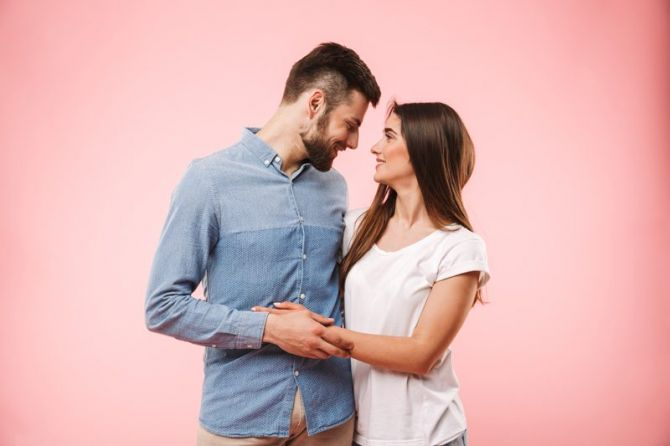 higiene dental en pareja